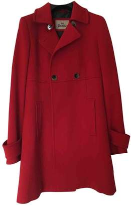 Herno Red Wool Coats