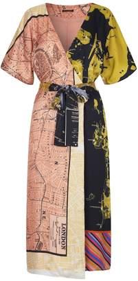 Stine Goya Mia Dress in Maps