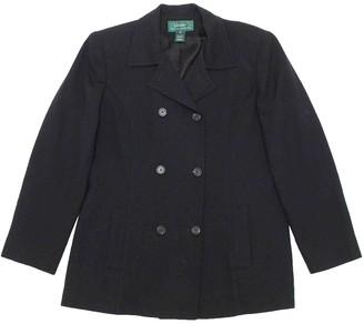 Ralph Lauren Black Wool Jackets