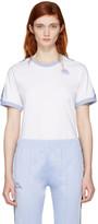 Kappa SSENSE Exclusive White & Blue Authentic Vale T-Shirt