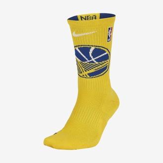 Nike NBA Crew Socks Golden State Warriors Elite