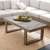 west elm Portside Coffee Table - Weathered Gray