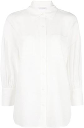 Anine Bing Monica textured shirt