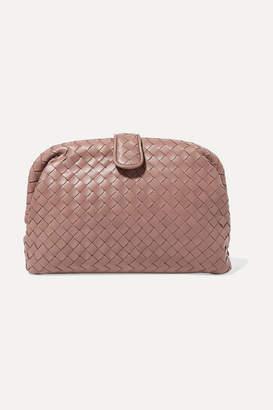 Bottega Veneta Lauren 1980 Intrecciato Leather Clutch - Pink