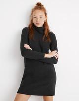 Madewell Foldover Turtleneck Sweater Dress