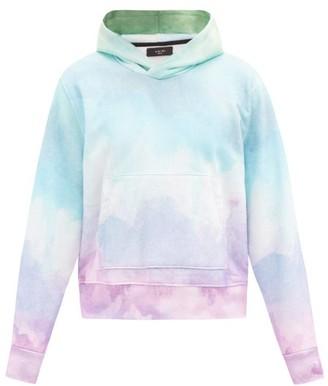 Amiri Watercolour Cotton-jersey Hooded Sweatshirt - Multi