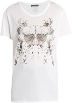 Alexander McQueen Butterfly-print cotton-jersey T-shirt