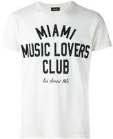 Diesel slogan print T-shirt - men - Cotton - S