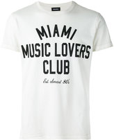 Diesel slogan print T-shirt