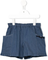 Familiar elasticated waist shorts - kids - Cotton/Polyurethane - 6 yrs