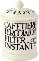 Emma Bridgewater Black Toast Coffee Jar