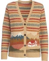 Woolrich Women's Chimney Peak Motif Cardigan