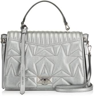 Jimmy Choo Medium Leather Helia Top Handle Bag