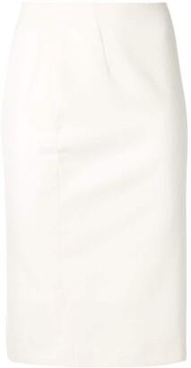Versace Pre-Owned Pencil Midi Skirt