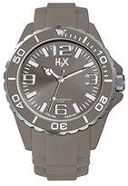 Haurex H2X Women's SG382DG2 Reef Luminous Water Resistant Grey Soft Rubber Watch