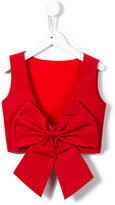 Little Bambah - Diana backless bow top - kids - Soie - 5 ans