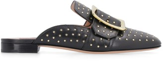 Bally Janesse Leather Slippers