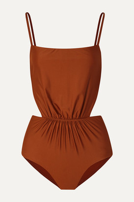 Matteau The Gathered Cutout Swimsuit