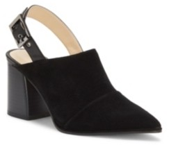 Enzo Angiolini Enzo Drima Buckle Mules Women's Shoes