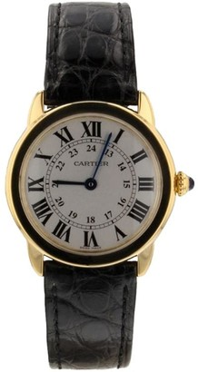 Cartier 2018 pre-owned Ronde Solo 30mm