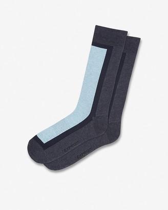 Express Color Block Dress Socks