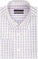 Geoffrey Beene Men's Classic-Fit Purple Checked Dress Shirt