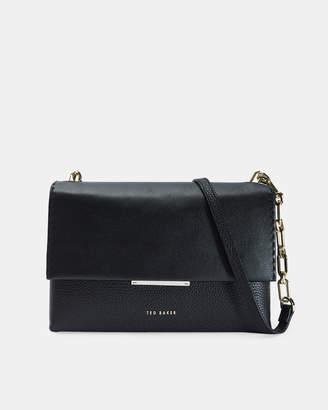 Ted Baker DIILILA Medium leather envelope cross body bag