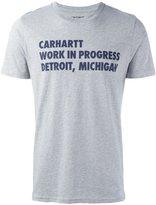 Carhartt 'Bold type' T-shirt