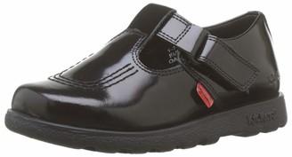 Kickers Women's Fragma T-Bar School Shoes