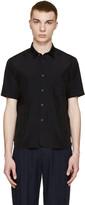 08sircus Navy Taffeta Shirt
