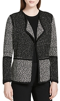 Calvin Klein Color Block Flyaway Cardigan