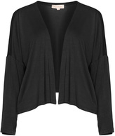 Isolde Roth Plus Size Cropped jersey cardigan
