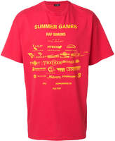Raf Simons games print T-shirt