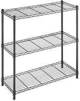 Whitmor 6070-3437 Supreme 3-Tier Shelving, Black