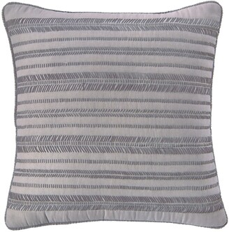 Splendid Home Decor Embroidered Voile Accent Pillow