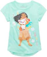 Disney Disney's Moana & Friends Cotton T-Shirt, Little Girls