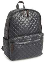 MZ Wallace 'Metro' Quilted Oxford Nylon Backpack - Black