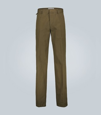 Lanvin Straight-leg cotton chinos