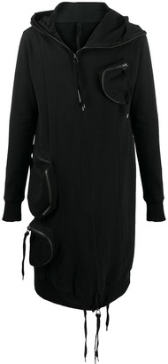 Army Of Me Multi Pockets Hooded Coat
