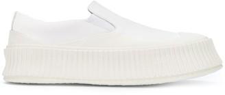 Jil Sander Classic Slip-On Sneakers
