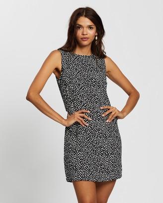 Glamorous Geometric Print Dress