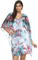 JLO by Jennifer Lopez Plus Size Print Caftan Dress