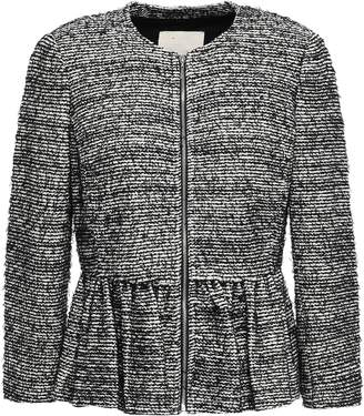 Rebecca Taylor Cotton-blend Tweed Peplum Jacket