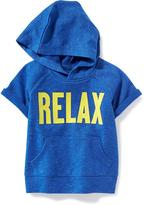 "Old Navy ""Relax"" Graphic French Terry Hoodie for Toddler"