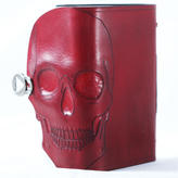Skull Leather Bound Journal