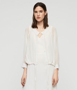 AllSaints Rhea Ebony Dress
