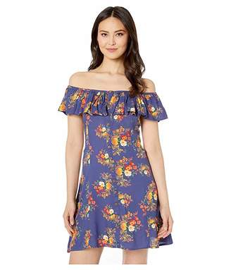 Rock and Roll Cowgirl Off Shoulder Dress D5-1442