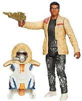 "Star Wars The Force Awakens 3.75"" Figure Snow Mission Armor Finn Starkiller Base"