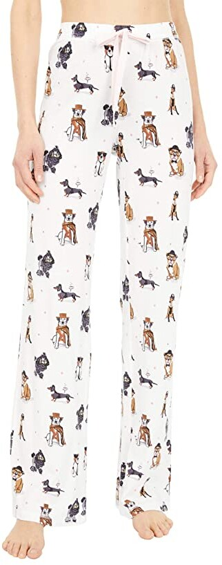 Ladies cotton sleeping pants trousers DOGS