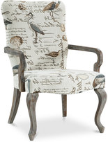 Bridgitte Fabric Accent Chair, Quick Ship